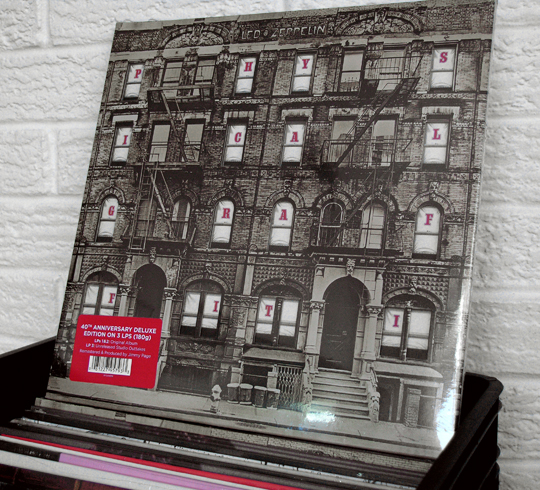 Led Zeppelin Physical Graffiti40th anniversary remaster vinyl