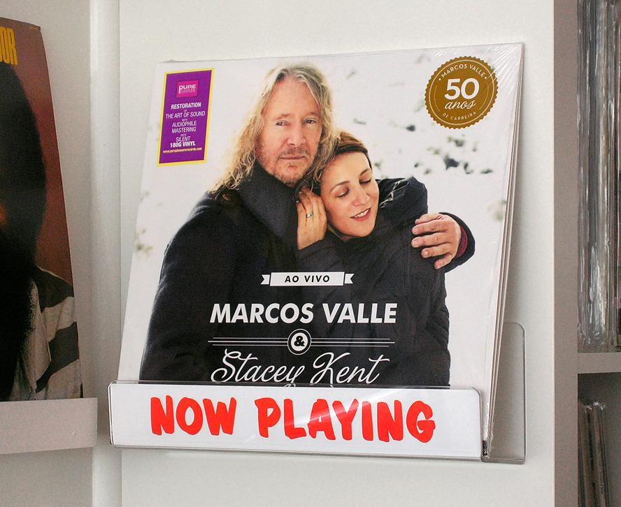 Marcos Valle and Stacey Kent vinyl