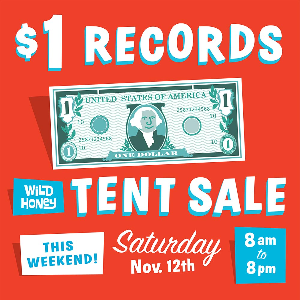 1.00 tent sale graphic
