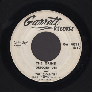 GREGORY DEE & THE AVANTIES 45