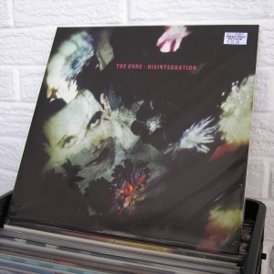 THE CURE vinyl record