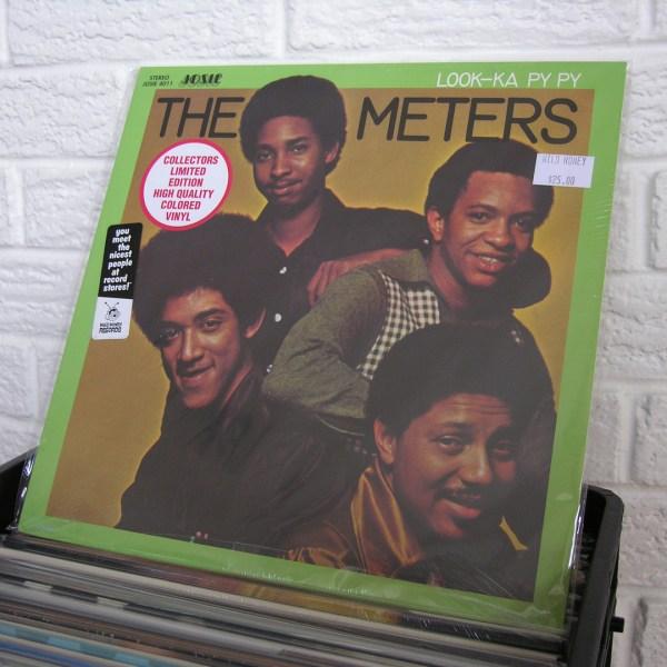 THE METERS vinyl record