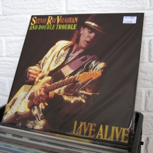STEVIE RAY VAUGHAN vinyl record