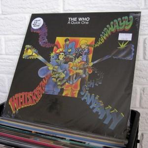 THE WHO vinyl record - new