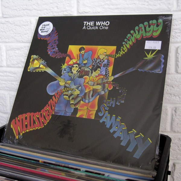 THE WHO vinyl record - new