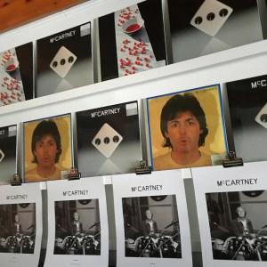 Paul McCartney McCartneyIII white vinyl with poster