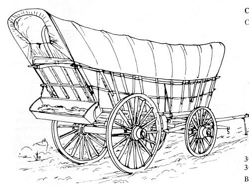 Build DIY 1800 covered wagon plans PDF Plans Wooden Pent