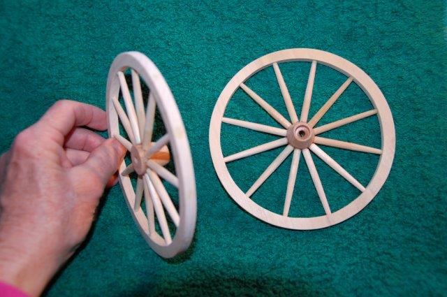 How To Make Wooden Wagon Wheels