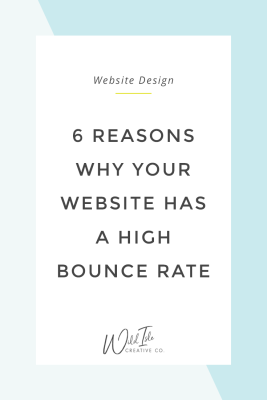 6 Reasons Why Your Website Has a High Bounce Rate
