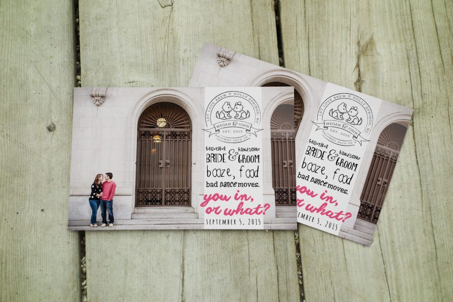 Save the Dates by Wild Joy Studios