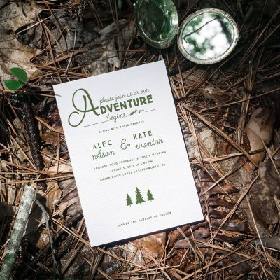 Kate And Alec's Outdoor Themed Wedding