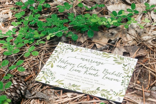 Fairy Garden Invitation Suite