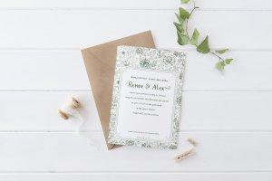 Sketched Roses Basic Wedding Suite