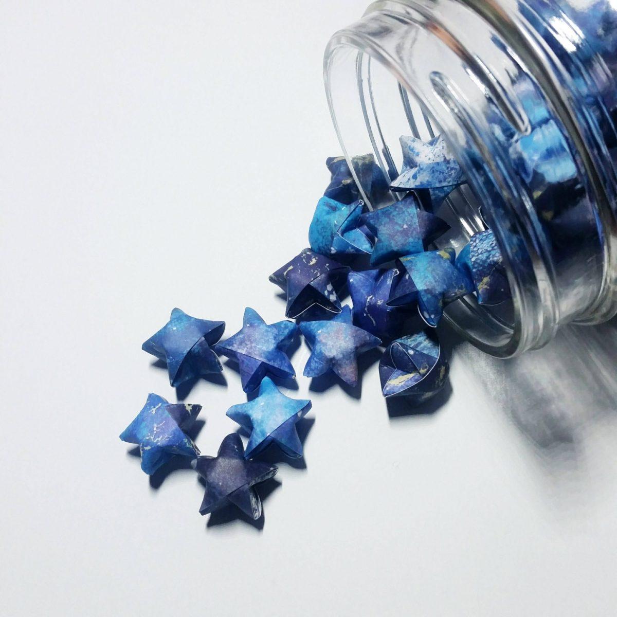 Origami Stars by OrigamiRetreat on Etsy