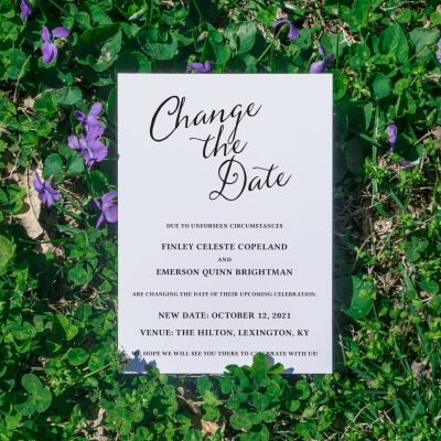 (Not) Friday Freebie: Editable Change the Date Printable