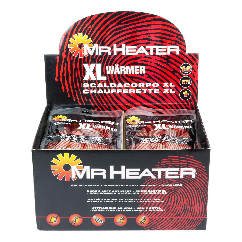 Heater 2x XXL Wärmer Taschenwärmer Wärmekissen Aktivkohlewärmer Mr