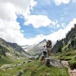 Cerca del Forau con el Pico de Aiguallut al fondo