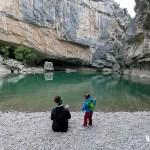 A orillas del Irati en la Foz de Lumbier