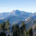 El Pedraforca desde la Ruta del Trencapinyes