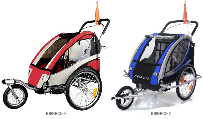 Remolque bicicleta Ebikeco