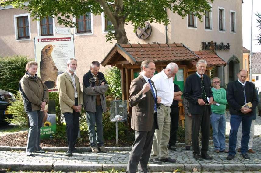Eröffnung Rebhuhnweg