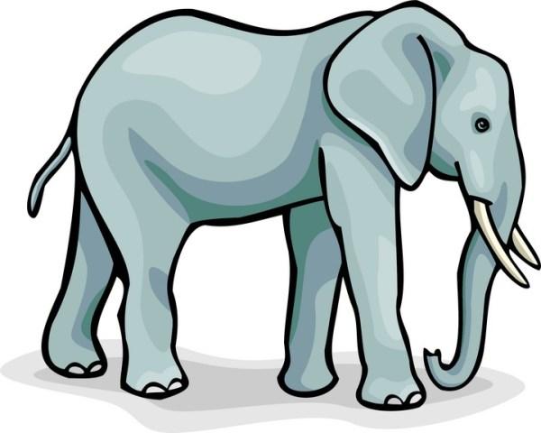 free elephant clipart