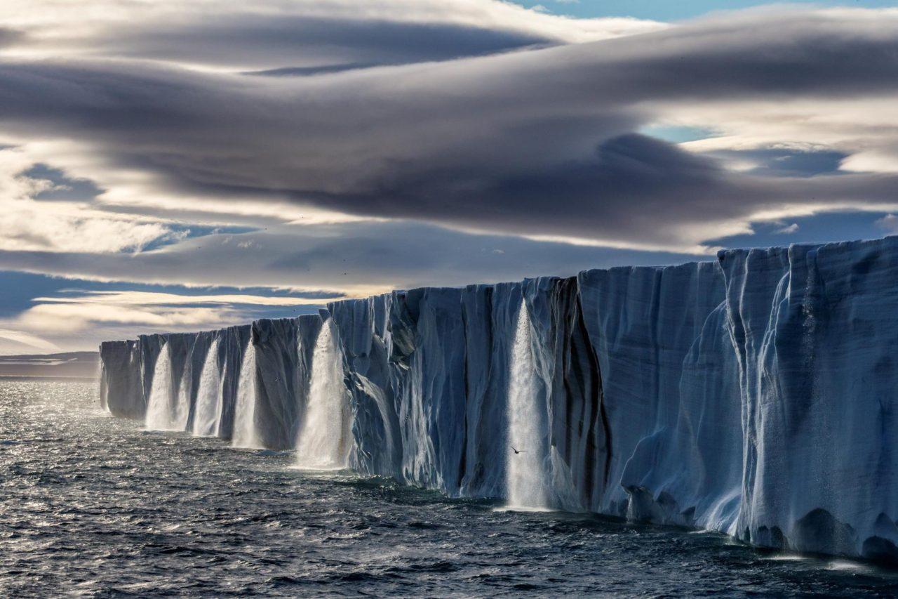 Glacier In Svalbard Norway