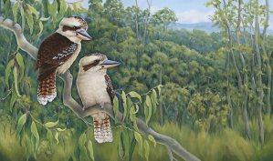 Kookaburra Painting