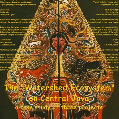 "The ""Watershed Ecosystem"" on Central Java, 1991 Assen, Schuurmans & Thiels"
