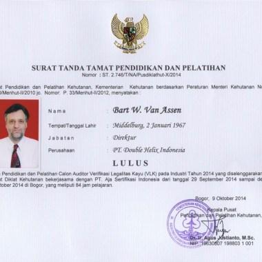 Verifikasi Legalitas Kayu