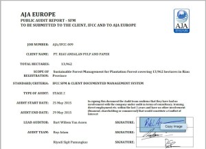 The falsified signatures can be recognized as separate scans added to the reports.