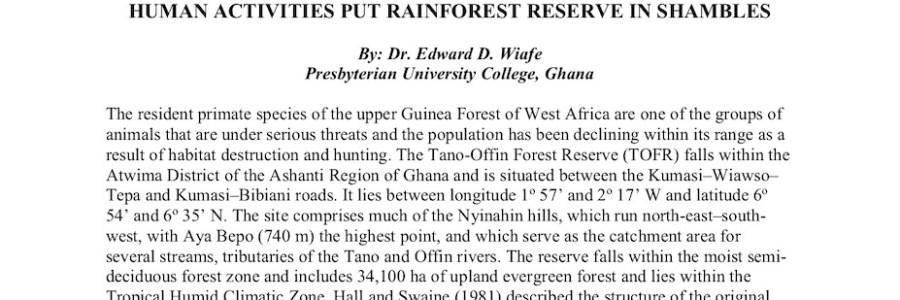 SAF | International Forestry Working Group Newsletter (December 2018)