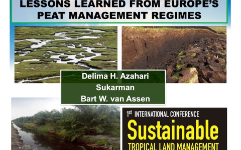 Lessons learned from Europe's peatland management regimes