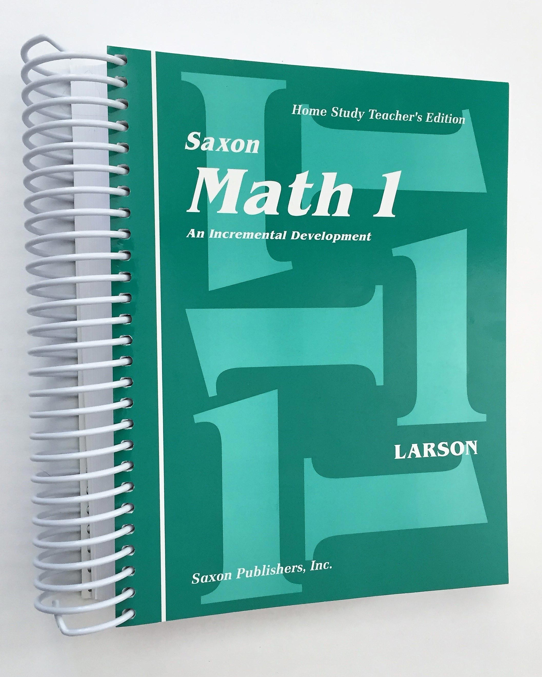 Review Saxon Math Grade 1 Curriculum