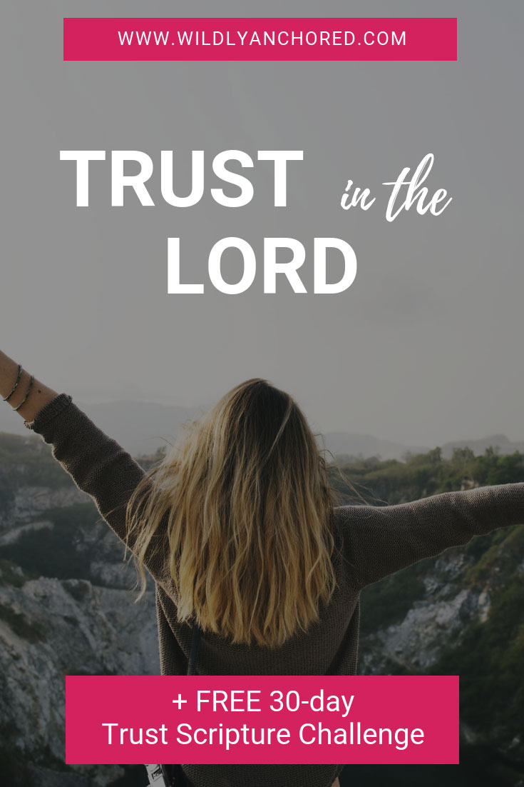 It can feel difficult at times to trust in the Lord, but the Lord has the best plans for us IF we trust Him. Remind yourself to trust in the Lord with this FREE Printable!