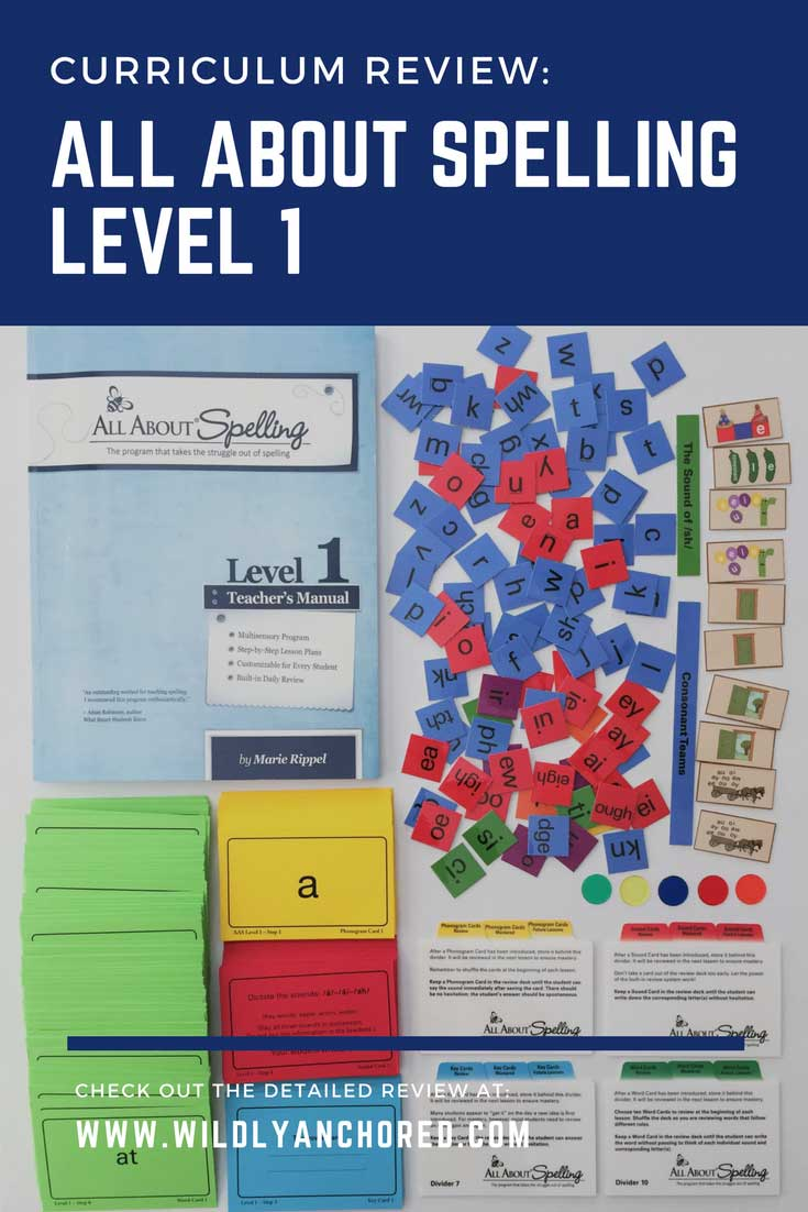 Find out why All About Spelling Level 1 is highly recommended! #allaboutspelling #allaboutlearning #languagearts #homeschoollanguagearts #homeschoolspelling