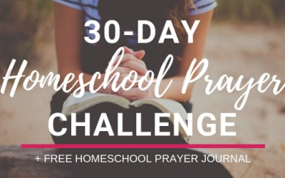 30-Day Homeschool Prayer Challenge