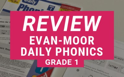 REVIEW: Evan-Moor Daily Phonics Grade 1 E-book