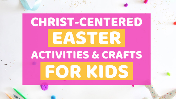 Have your kids participate in a Christ-Centered Easter with these fun activities and crafts, and so much more! Includes FREEBIES!!