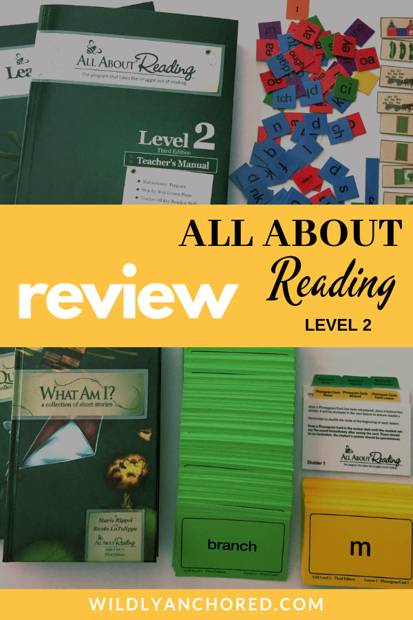 A detailed and in-depth review of All About Reading Level 2 - including what we liked and didn't like, what we changed and how success in reading was achieved! #allaboutreading #learningtoread #homeschoolreading