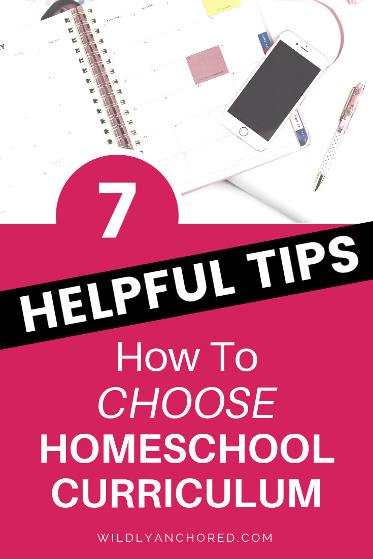7 Helpful Tips on How To Choose Homeschool Curriculum + FREE Homeschool Plan Checklist
