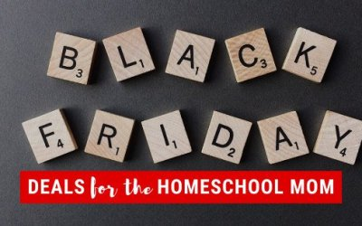 Black Friday Deals For the Homeschool Mom
