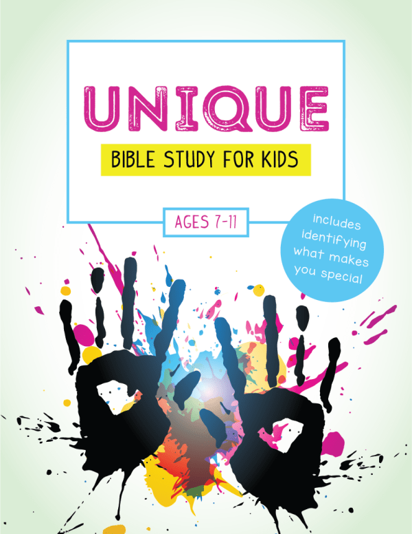 Unique Bible Study for Kids by Wildly Anchored