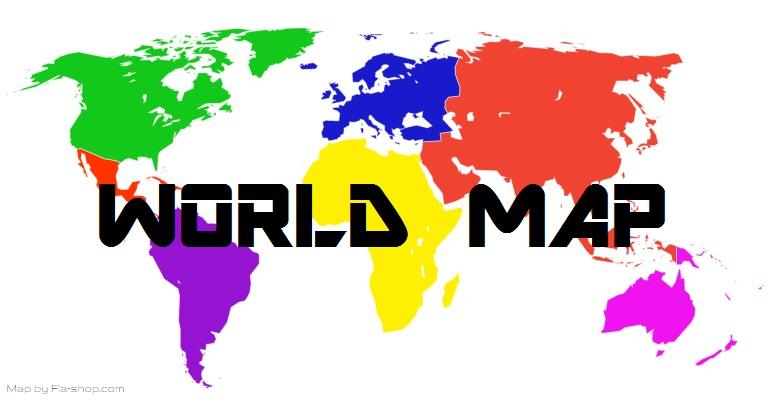 World Map Wildly Intrepid