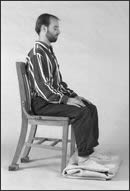 Meditating sitting in a chair - Wildmind