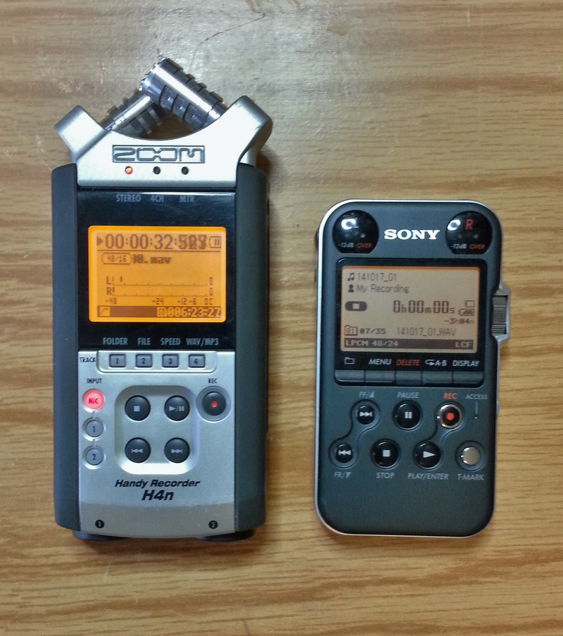 Choosing a sound recorder for nature recording: the essentials