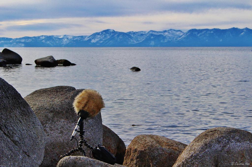 Recording at Lake Tahoe