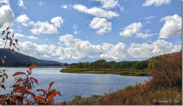 Mt. Moran from Jenny Lake.