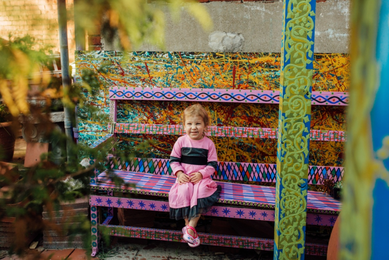 Randyland Pittsburgh Family Portrait Photographer
