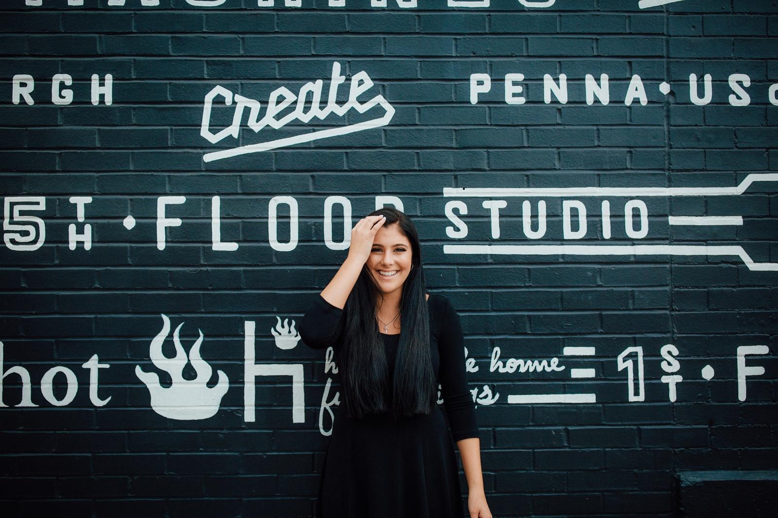 Pittsburgh Senior Portraits Strip District